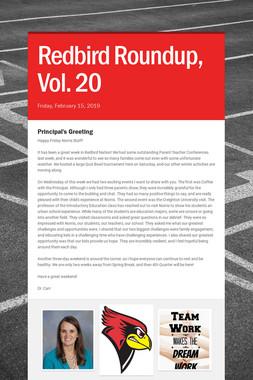 Redbird Roundup, Vol. 20