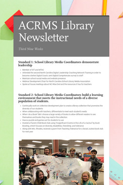 ACRMS Library Newsletter