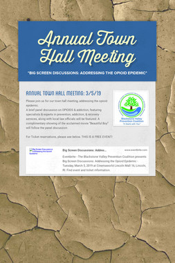 Annual Town Hall Meeting