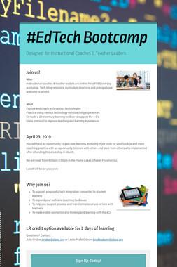 #EdTech Bootcamp