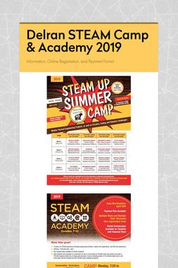 Delran STEAM Camp & Academy 2019
