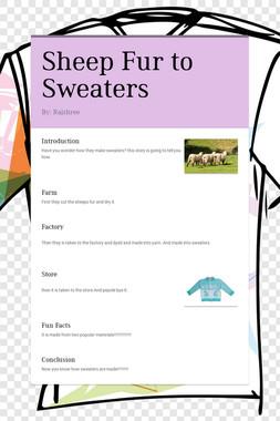Sheep Fur to Sweaters
