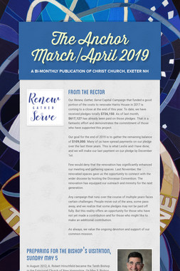 The Anchor March/April 2019