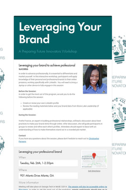 Leveraging Your Brand