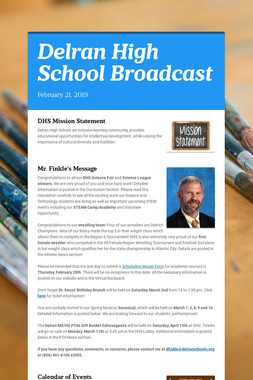 Delran High School Broadcast