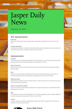 Jasper Daily News