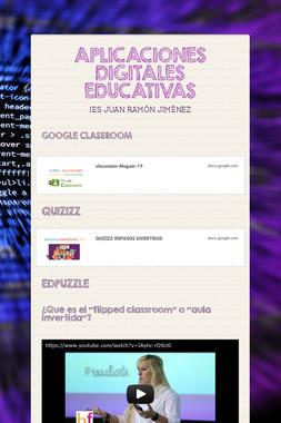 APLICACIONES DIGITALES EDUCATIVAS