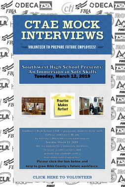 CTAE Mock Interviews