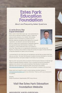 Estes Park Education Foundation