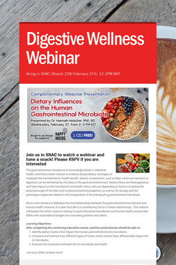 Digestive Wellness Webinar