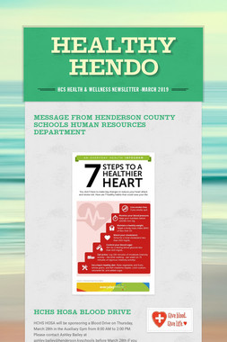 Healthy Hendo