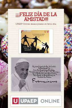 ¡¡¡FELIZ DÍA DE LA AMISTAD!!!