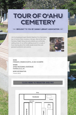 Tour of O'ahu Cemetery