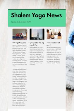 Shalem Yoga News