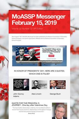 MoASSP Messenger February 15, 2019