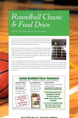 Roundball Classic & Food Drive