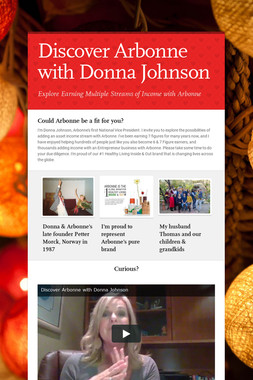 Discover Arbonne with Donna Johnson