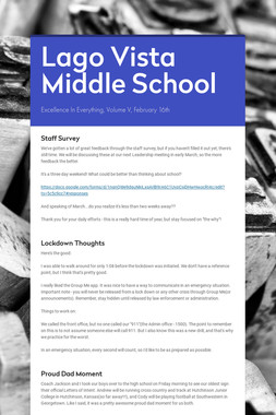 Lago Vista Middle School