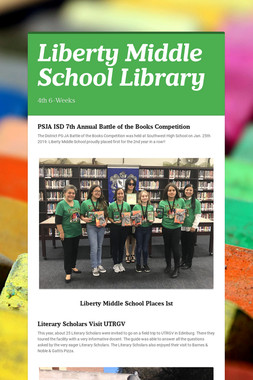 Liberty Middle School Library