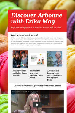 Discover Arbonne with Erika May