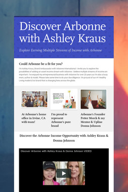 Discover Arbonne with Ashley Kraus