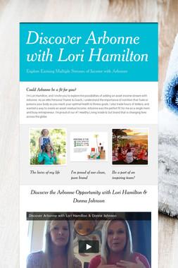 Discover Arbonne with Lori Hamilton