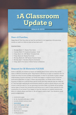 1A Classroom Update 9