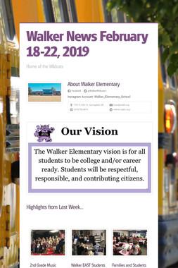 Walker News    February 18-22, 2019