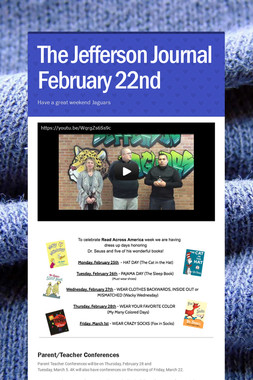 The Jefferson Journal February 22nd
