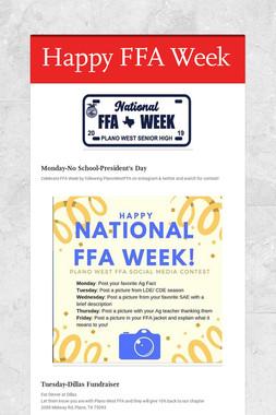 Happy FFA Week