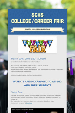 SCHS College/Career Fair