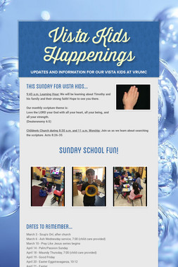 Vista Kids Happenings