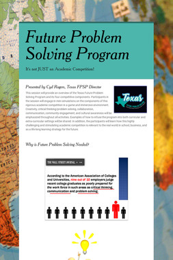 Future Problem Solving Program