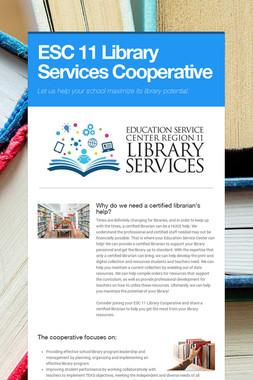 ESC 11 Library Services Cooperative