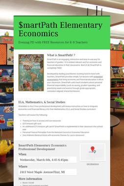 $martPath Elementary Economics