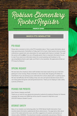 Robison Elementary Rocket Register