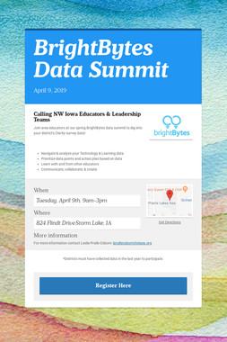 BrightBytes Data Summit