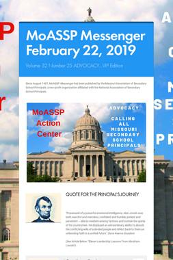 MoASSP Messenger February 22, 2019