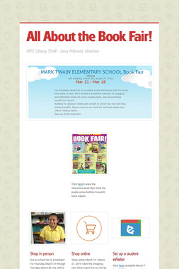 All About the Book Fair!
