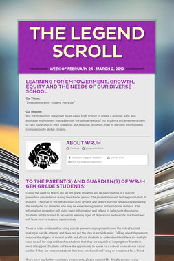 The LEGEND Scroll