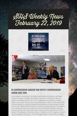 SHS Weekly News February 22, 2019