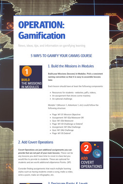 OPERATION: Gamification