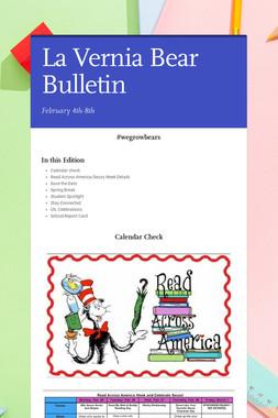 La Vernia Bear Bulletin