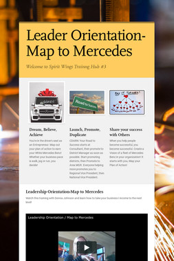 Leader Orientation-Map to Mercedes