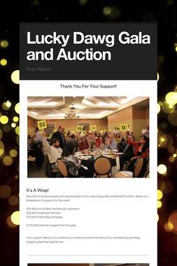 Lucky Dawg Gala and Auction
