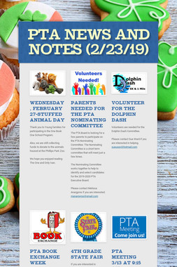 PTA News and Notes (2/23/19)