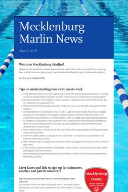 Mecklenburg Marlin News