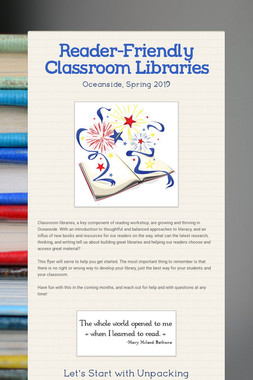 Reader-Friendly Classroom Libraries