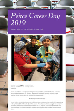 Peirce Career Day 2019