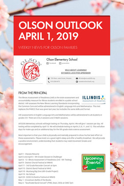 OLSON OUTLOOK   APRIL 1, 2019